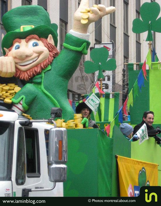 Ziua Sfântului Patrick este sărbătorită în Centrul Vechi al Bucureştiului