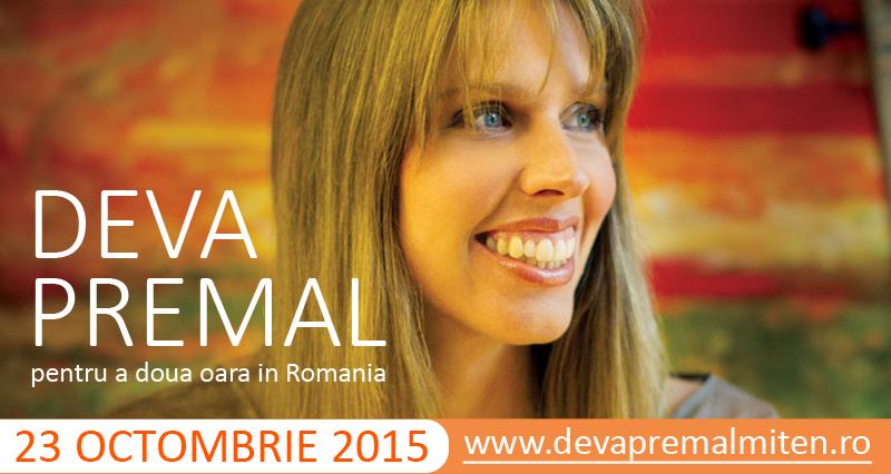 Concert Deva Premal în București!