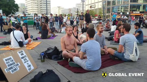 Experiment de contact vizual în București