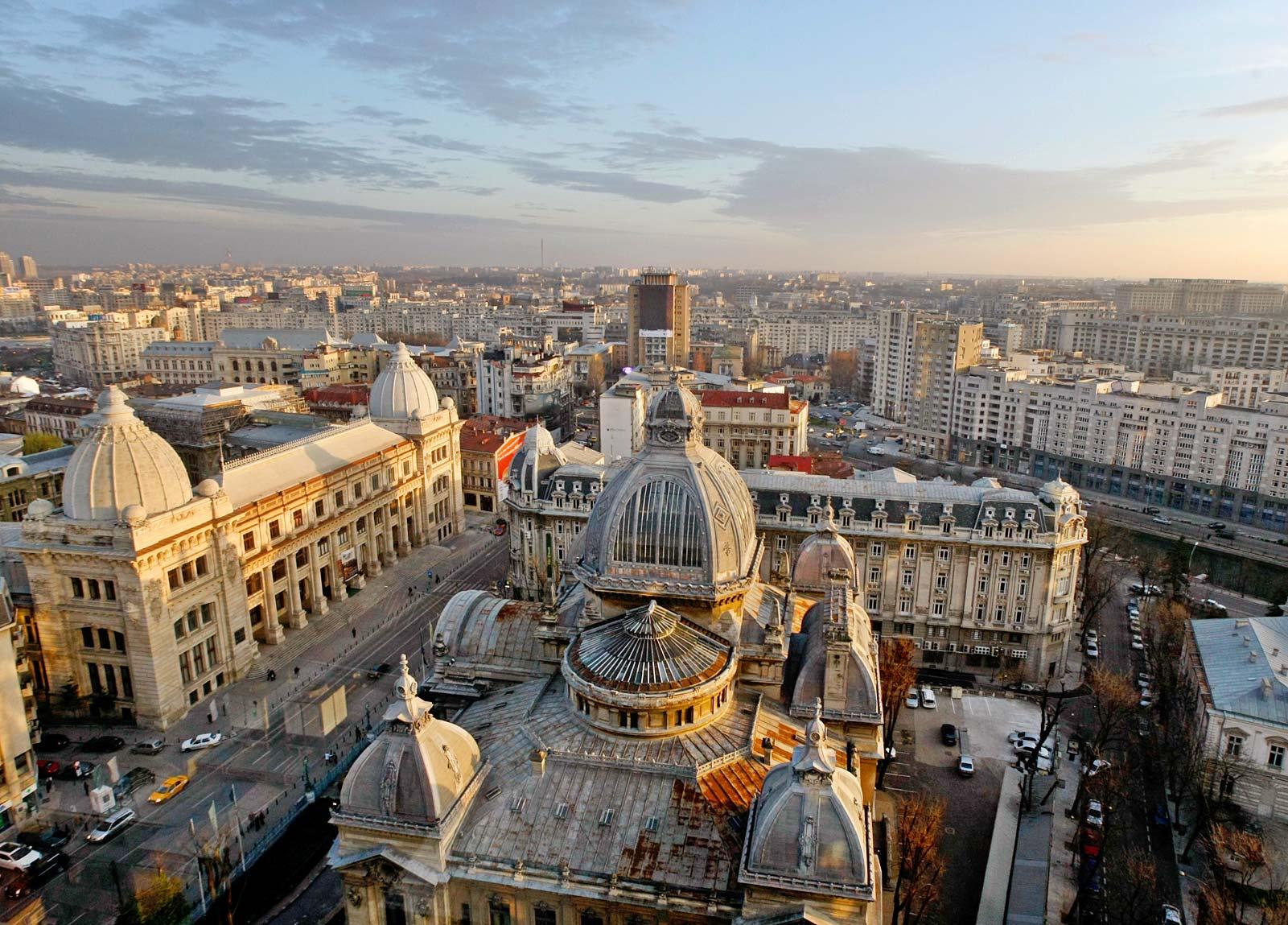 O mică istorie a orașului București