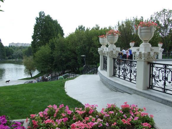 Parcul IOR, oază de liniște între blocuri